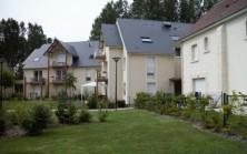 Vue des espaces verts Parc Desmeserets Fleury sur Orne