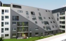 Incitii Appartements à Rouen vue arrière