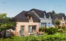 Vue principale maisons résidence Le Clos Normandy