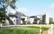 Vue principale appartements Résidence Harmonii